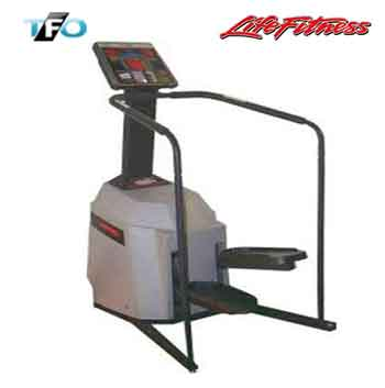 life fitness 9500hr stepper total fitness outlet. Black Bedroom Furniture Sets. Home Design Ideas