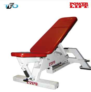 Power-Lift Adjustable Bench - Total Fitness Outlet